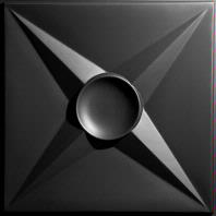 Circle Star Black Ceiling Tiles