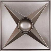 Circle Star Tin Ceiling Tiles