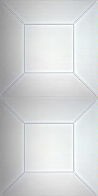 Convex Translucent Ceiling Panels