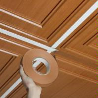 Grid Tape Caramel Wood