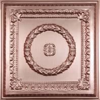 Evangeline Copper Ceiling Tiles