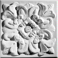 Florentine White Ceiling Tiles