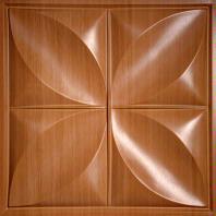 Petal Caramel Wood Ceiling Tiles