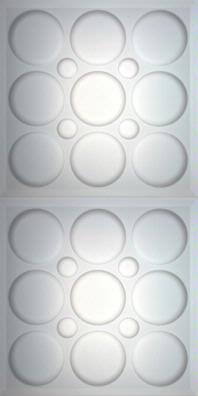 Roman Circle Translucent Ceiling Panels