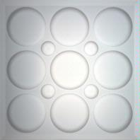 Roman Circle Translucent Ceiling Tiles