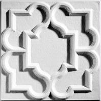 Victorian White Ceiling Tiles